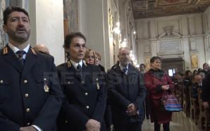 I Vigili Urbani festeggiano San Sebastiano